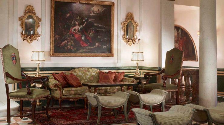 The Gritti Palace es un hotel en Venecia repleto de arte