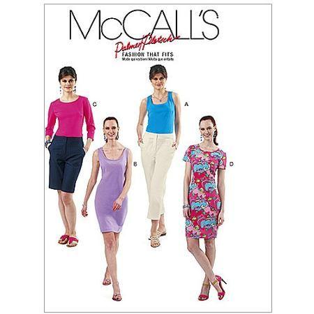 McCall's Pattern Misses' Tops and Dresses, FF (16, 18, 20, 22) - Walmart.com