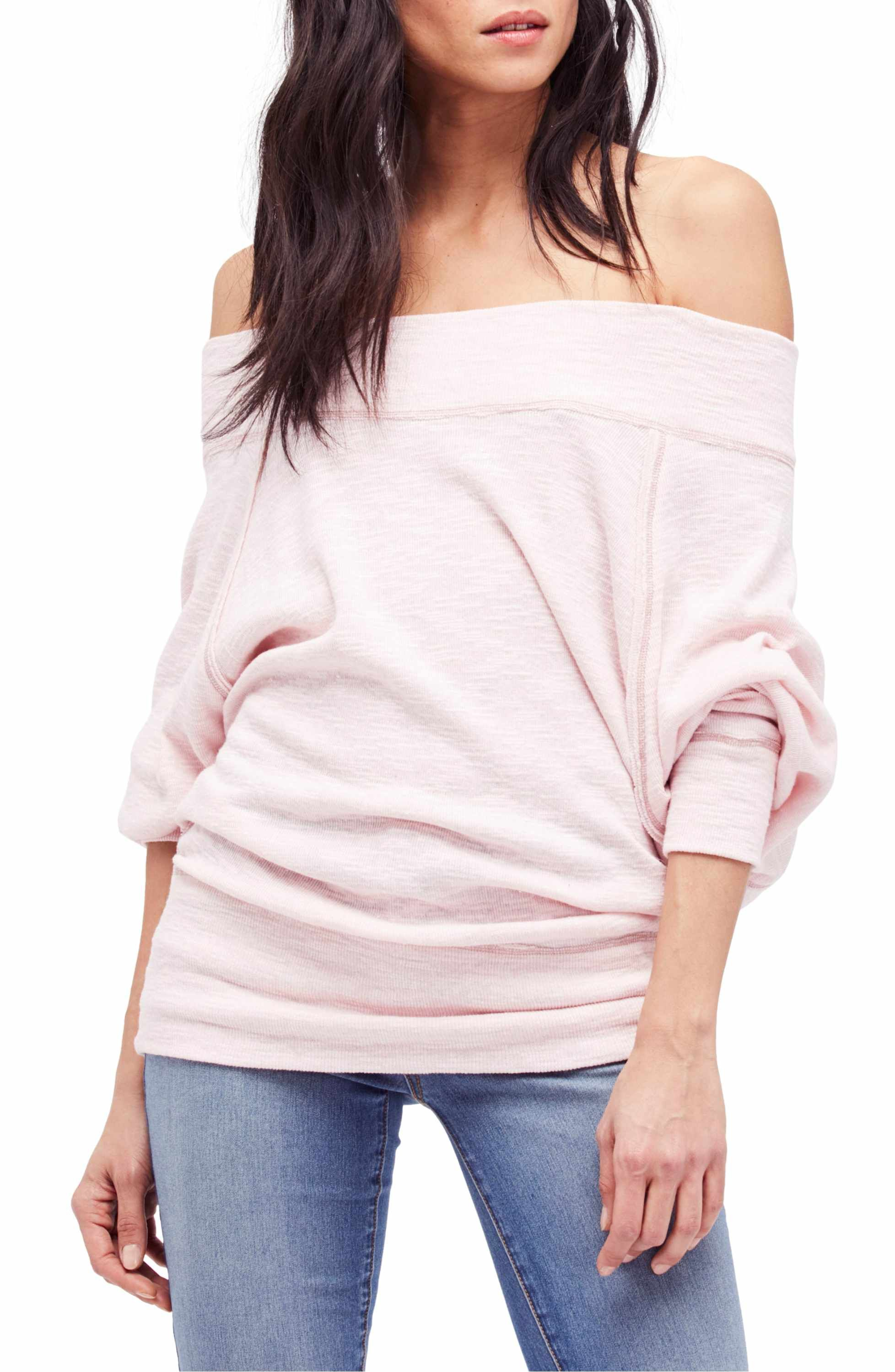 4620843bac50f Main Image - Free People Palisades Off the Shoulder Top