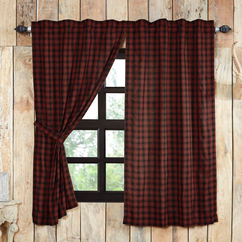 Cumberland Short Panel Curtains 63 Quot L Quilted Bedding