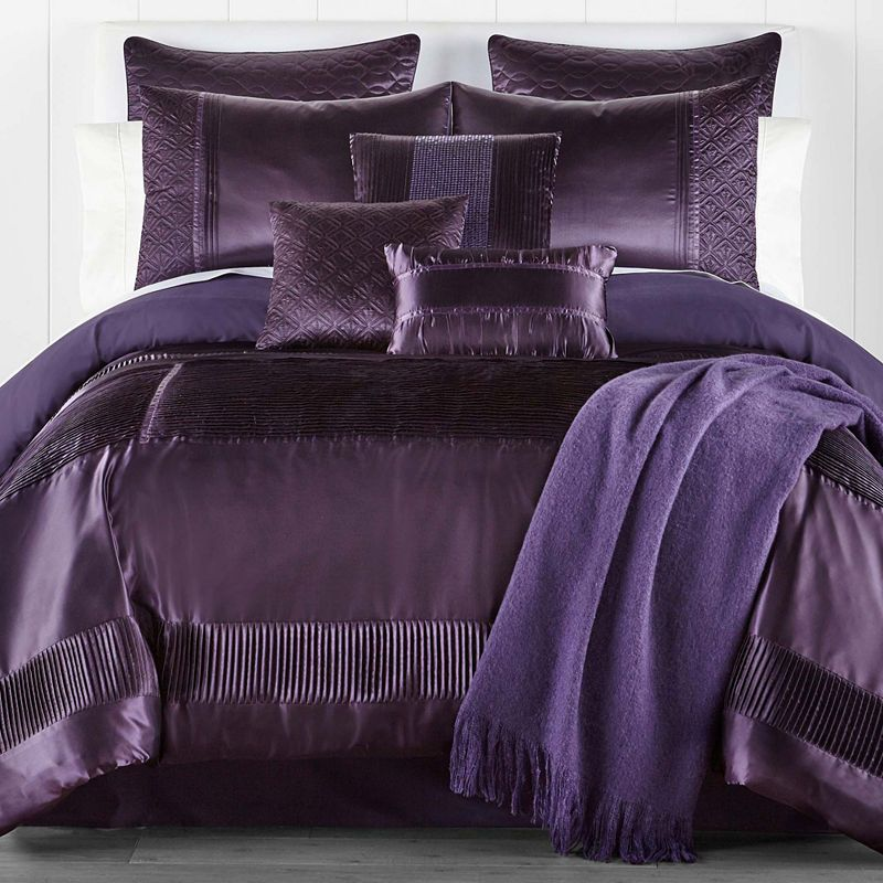 Jcpenney Home Adriana 10 Pc Embellished Comforter Set Comforter