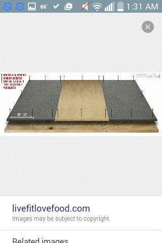 Deadlift Platform Ii Deadlift Deadlift Platform Homemade Gym Equipment