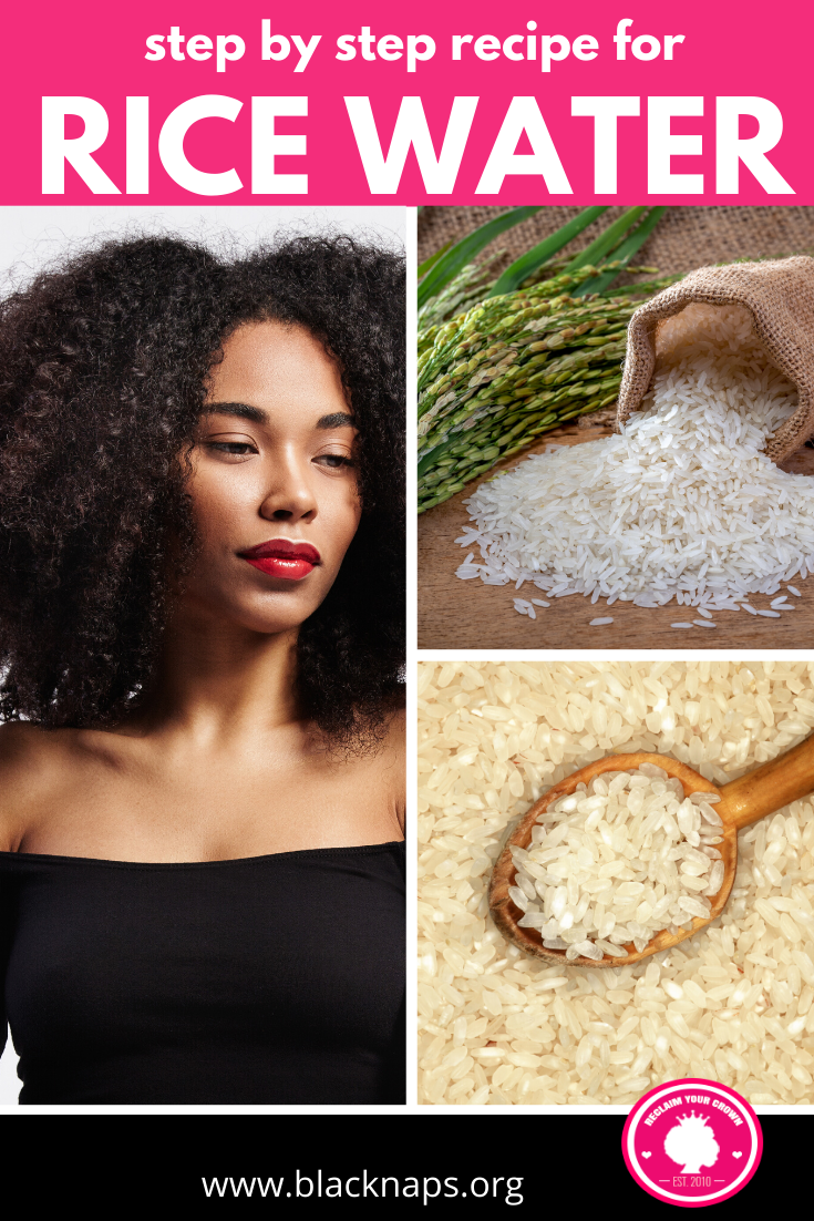 How To Do A Fermented Rice Water Hair Rinse For Stronger And Softer Hair Natural Hair Styles Fine Natural Hair Natural Hair Diy