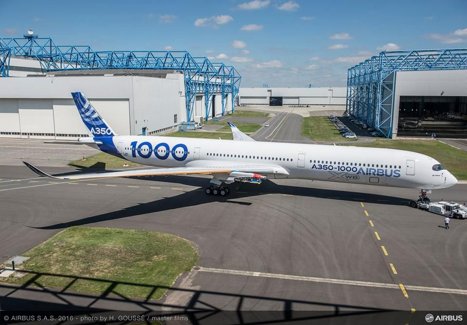 Airbus Transport International Airbus A350-1000 F-WMIL, the