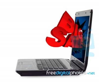 3D Big Sale Through Laptop Thanks - this is so easy!