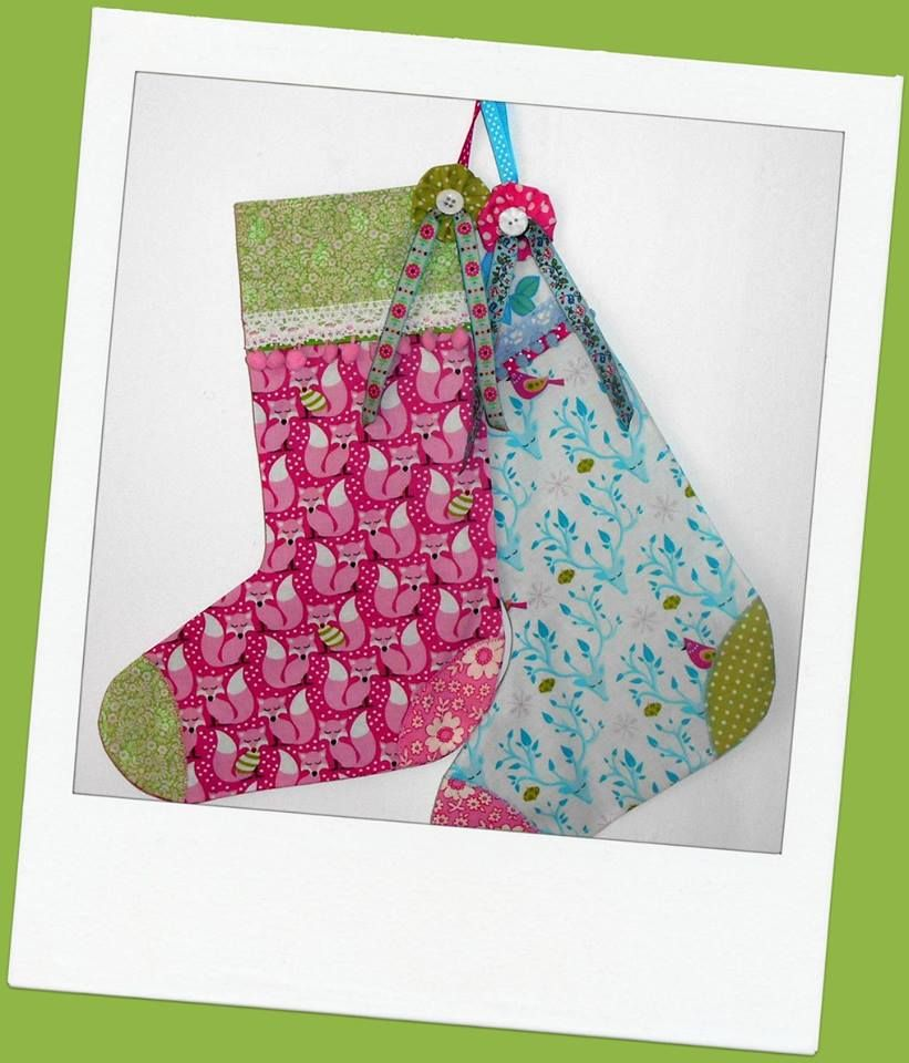 Button Fayre Christmas stockings