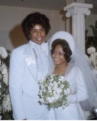 Jermaine Jackon and Hazel Gordy