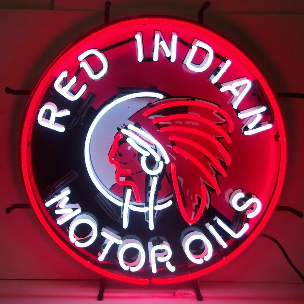 Texaco Motor Oil Neon Sign vintage style Gasoline sign Texaco Star real neon NIB