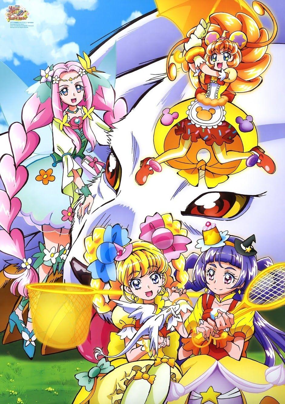 Mahou Tsukai Pretty Cure おしゃれまとめの人気アイデア Pinterest Anitacrown プリキュア イラスト セーラームーン 壁紙 魔法つかい プリキュア