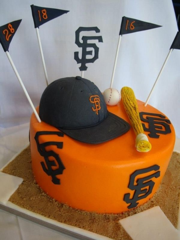 Giants cake San Francisco Treats Pinterest Giant cake Cake