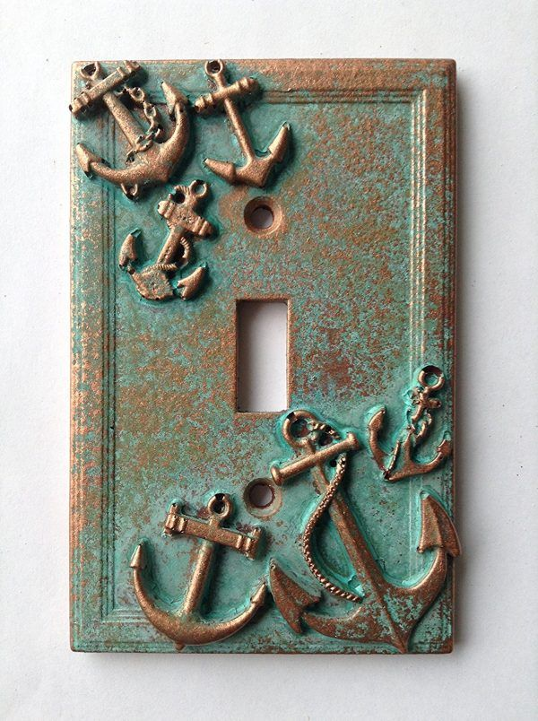 Nautical Light Switch Cover Decorative Light Switch Covers Light Switch Covers Diy Light Switch Covers