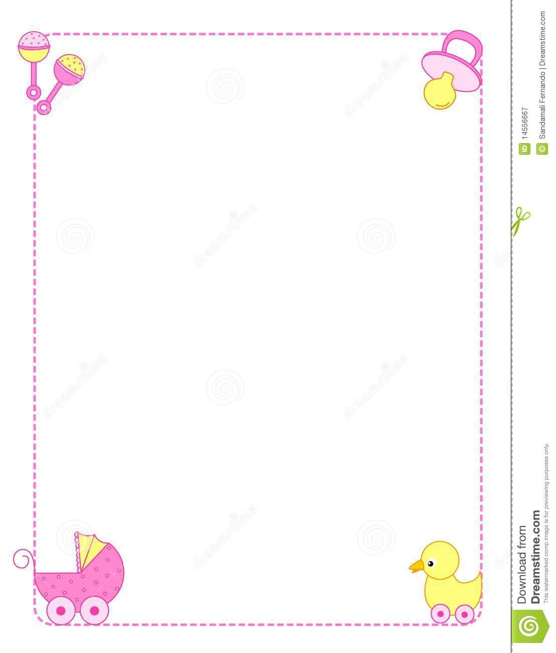 baby girl border clip art free boarder pinterest clip art free