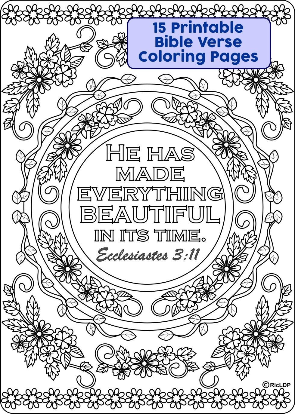 15 Bible Verses Coloring Pages Free Coloring Sites Coloring