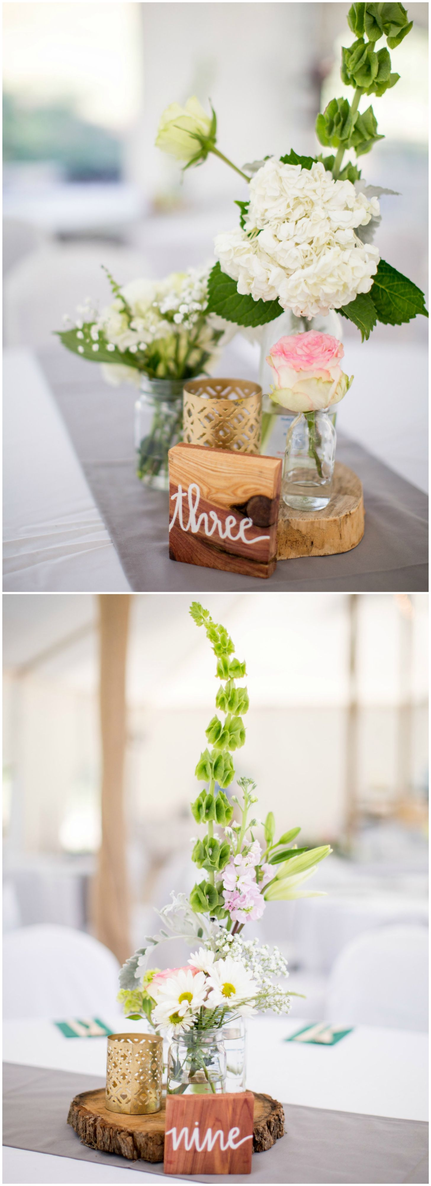 The Smarter Way to Wed | Floral centerpieces, Hydrangea and Centrepieces