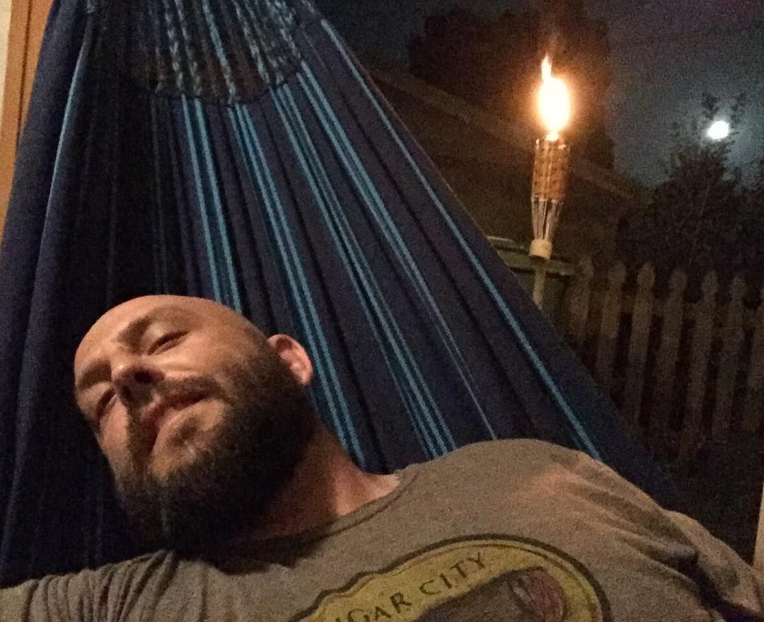 A few less mosquitos and this would be perfect! #hammocklife #florida #relax by @elcalvoguapo