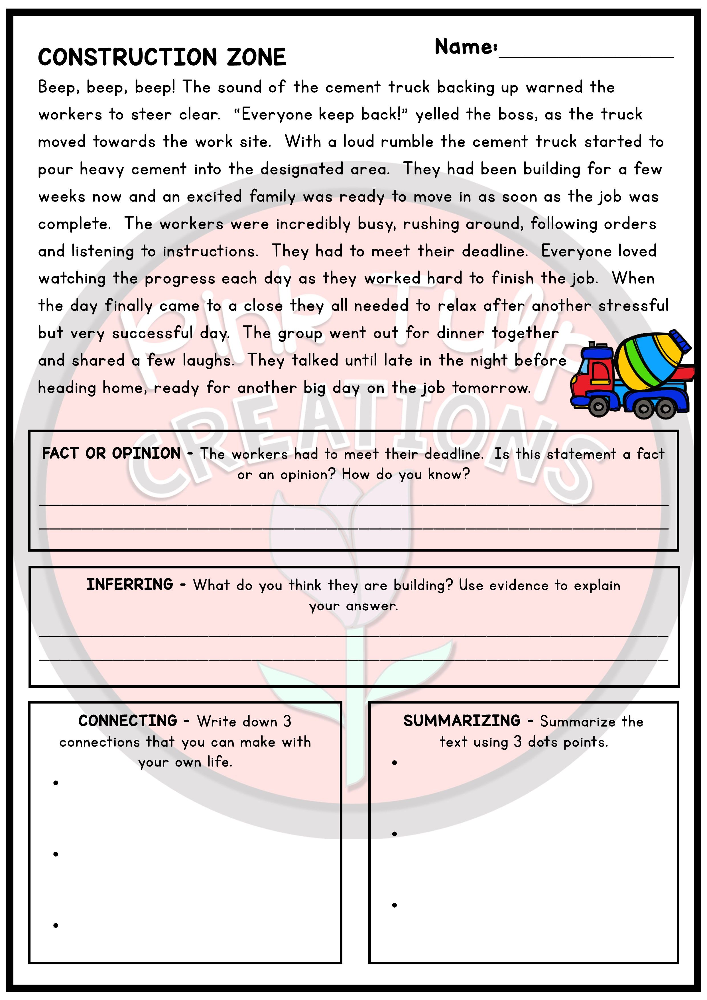 30 Engaging Reading Passages With A Range Of Reading Strategies And Questions To Develop Comp Reading Strategies Reading Comprehension Worksheets Comprehension [ 3508 x 2480 Pixel ]