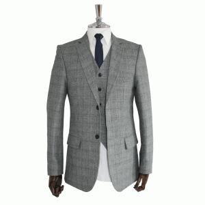 Grey Tweed 3 Piece Suit - www.vollow.me