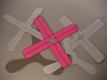 Snip Burn Solder Blog Cardboard Boomerangs