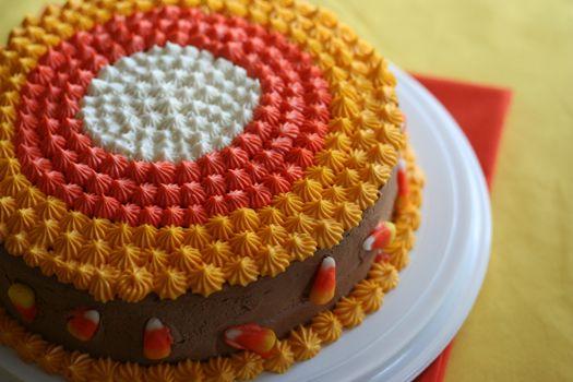Cake Walk Cake Idea Perfect For A Fall Carnival Candy Corn