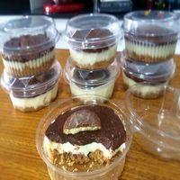 Torta Holandesa no Potinho faça e venda, ganhe dinheiro vendendo bolos nos potinhos, seus clientes vão adorar a novidade de comer um bolinho lindo e