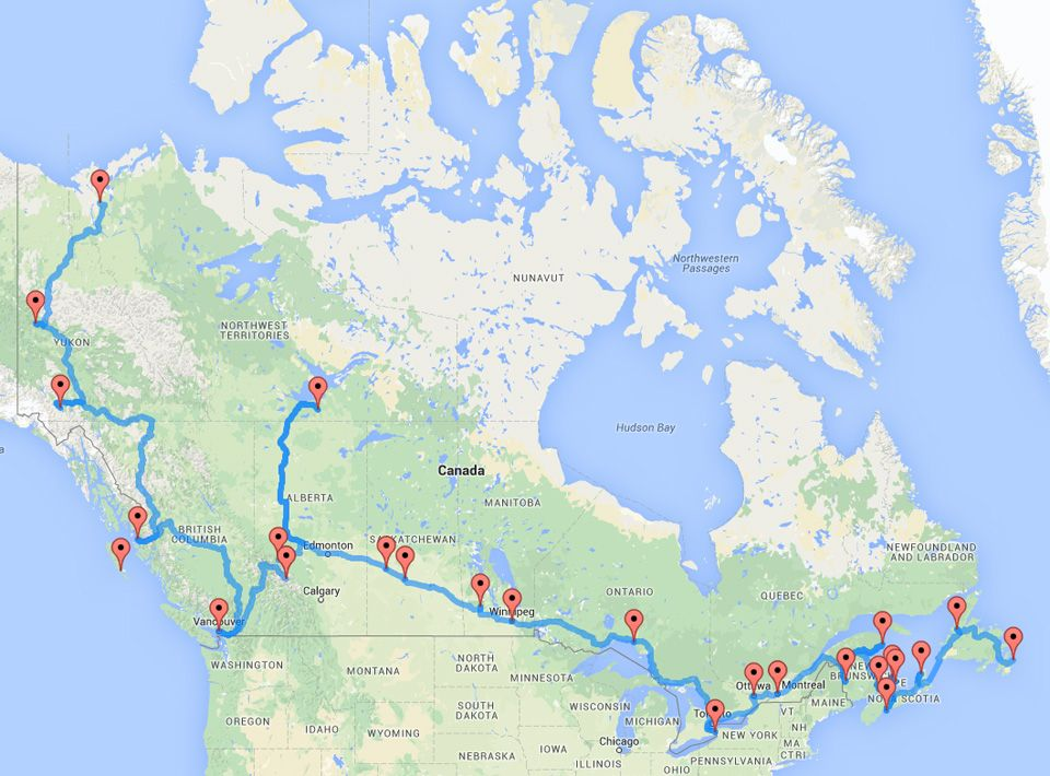 Best 25 Road Trip Canada Ideas On Pinterest Summer Road