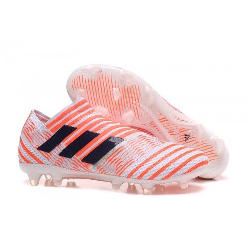 b315c543 2016 Adidas Nemeziz 17 360 Agility FG Fotballsko Oransje Svart, Adidas  Nemeziz fotballsko til menn