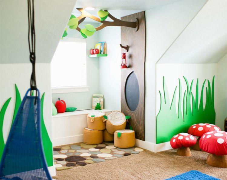 Kinderspielzimmer einrichten und gestalten \u2013 tolle Ideen für einen