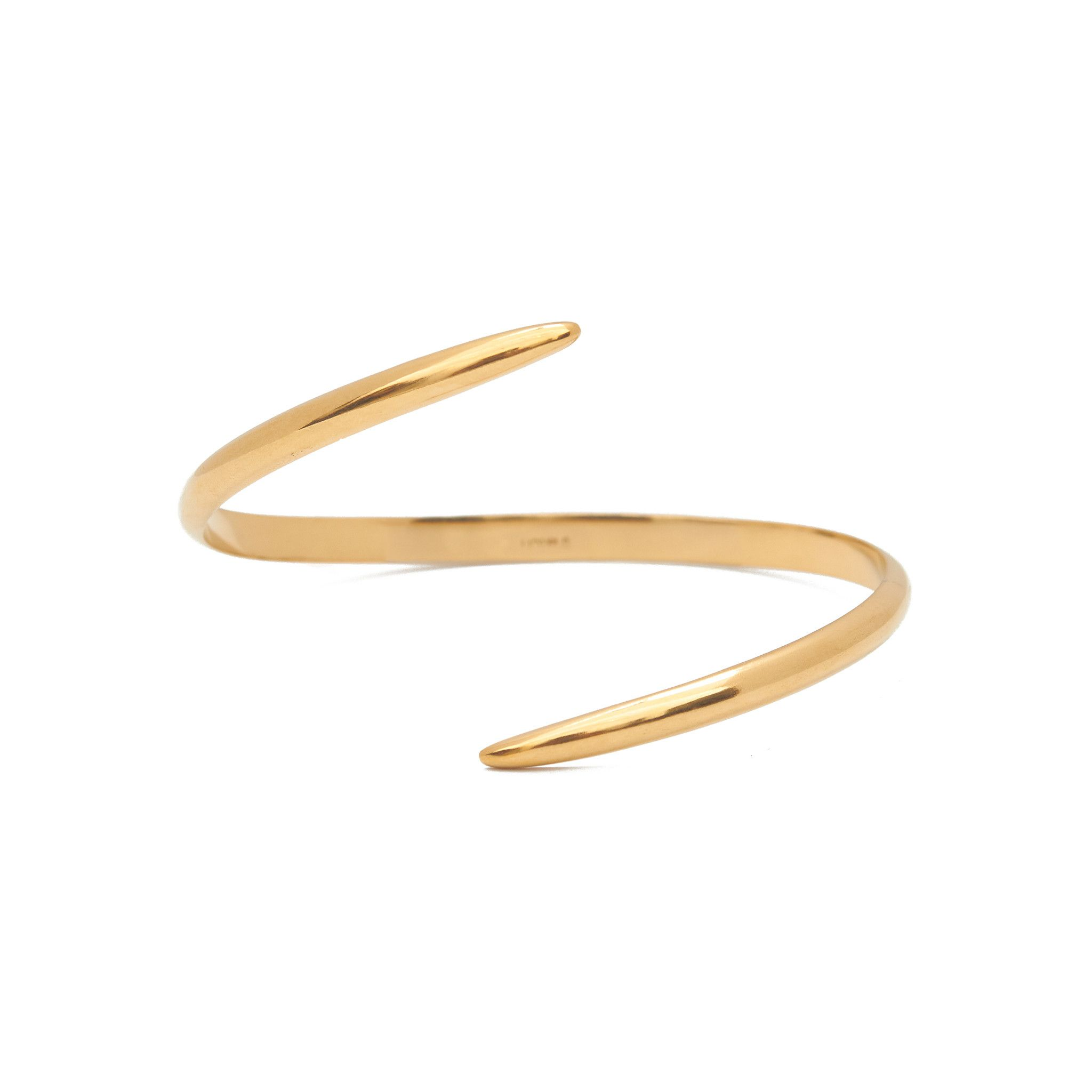 K gold thick open wrap cuff wraps gold and delicate