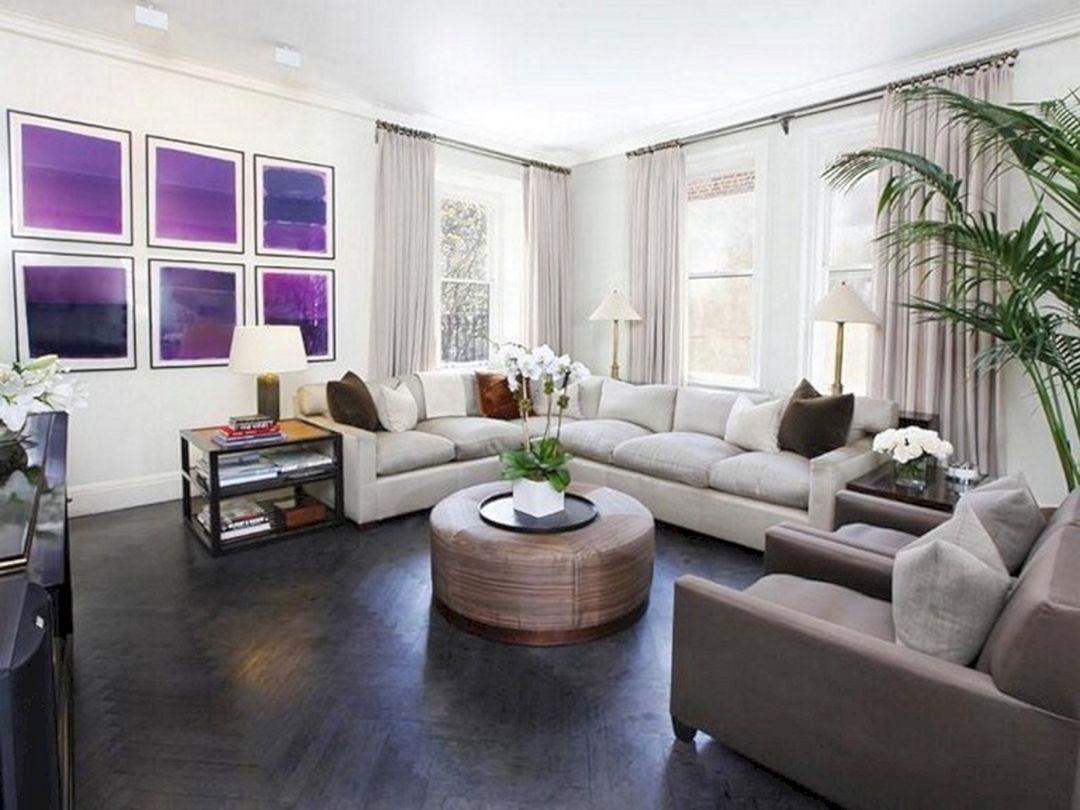 Living Room With Dark Wood Floors 125 Living Room With Dark Wood
