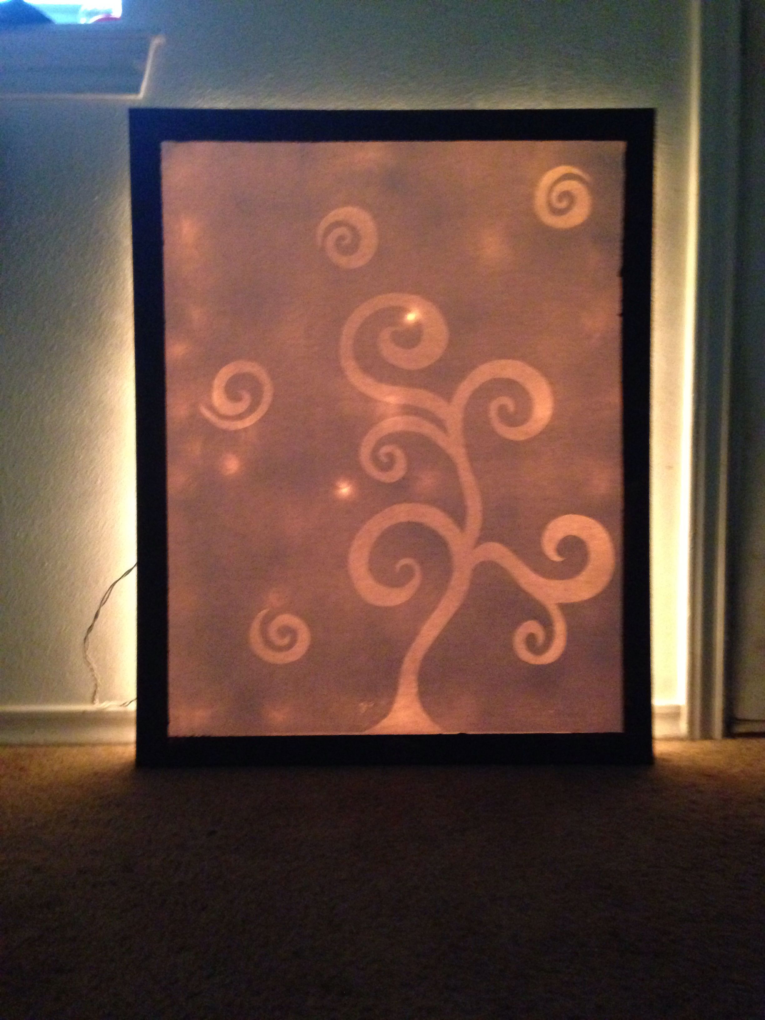 Illuminated Painting Real Simple Create A Stencil Or Buy