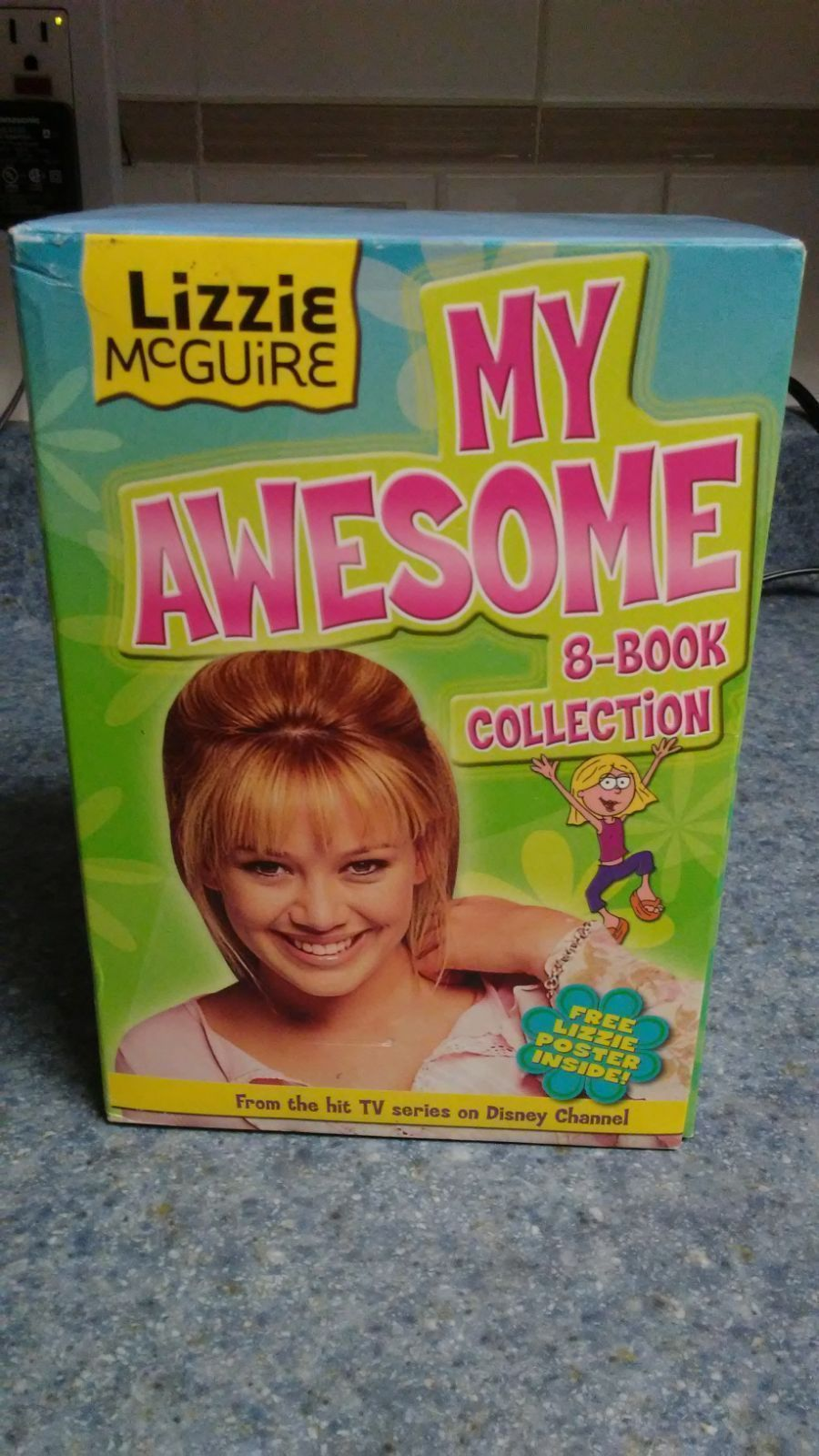 Totally awesome Lizzie Mcguire 8 book collection in case. Perfect for any Lizzie fan! These are a great read especially before the new Lizzie Mcguire series airs!! *does not include poster. #lizziemcguire Totally awesome Lizzie Mcguire 8 book collection in case. Perfect for any Lizzie fan! These are a great read especially before the new Lizzie Mcguire series airs!! *does not include poster. #lizziemcguire Totally awesome Lizzie Mcguire 8 book collection in case. Perfect for any Lizzie fan! Thes #lizziemcguire