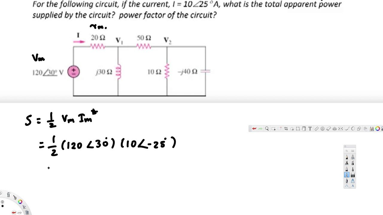 Complex Power Triangle 2 Circuit Analysis What Is