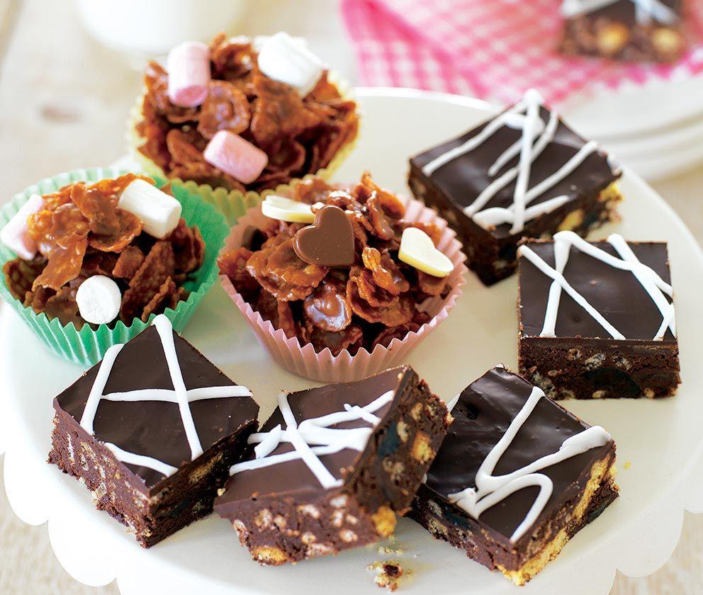 Chocolate fridge cake recipe with images chocolate