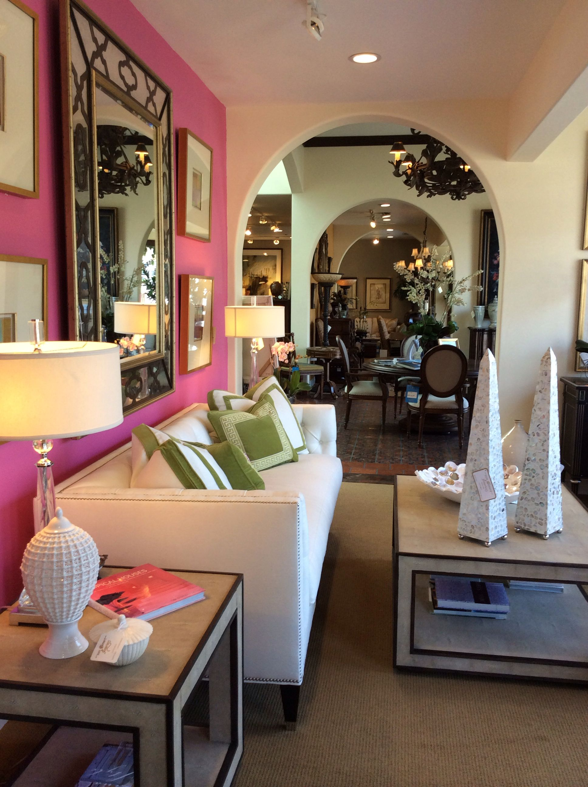 Radiant Orchid Is The Color Of The Year. Von Hemert Interiors Front Window  At Our
