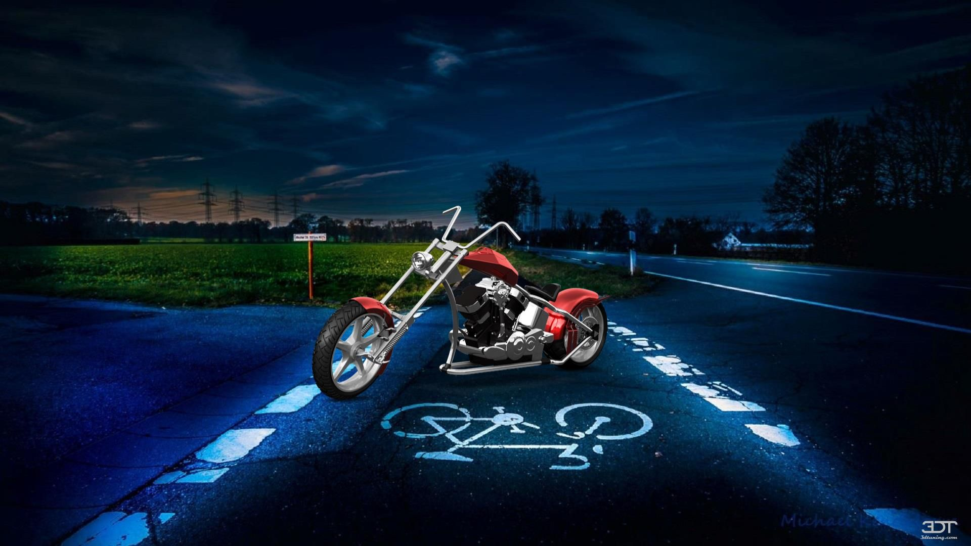 Checkout my tuning custom chopper 2017 at 3dtuning 3dtuning tuning