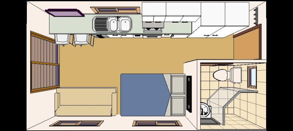 Kitchen Unit With Sink Convert Single Car Garage Into Apartment Single Car Garage Workshop Interior Designs Furnitureteams Co Met Afbeeldingen Huizen Container Woningen Huis
