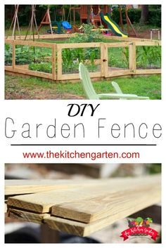 Keep your garden protected and give your space a polished look with this simple DIY raised bed fence!