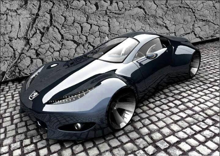 Peugeot concept car #conceptcars