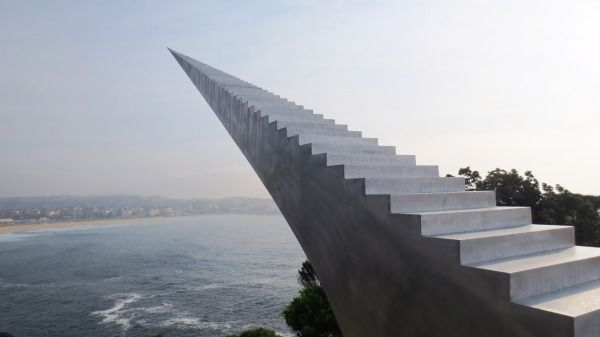 Stunning Staircases To Nowhere Created By Artists And Architects