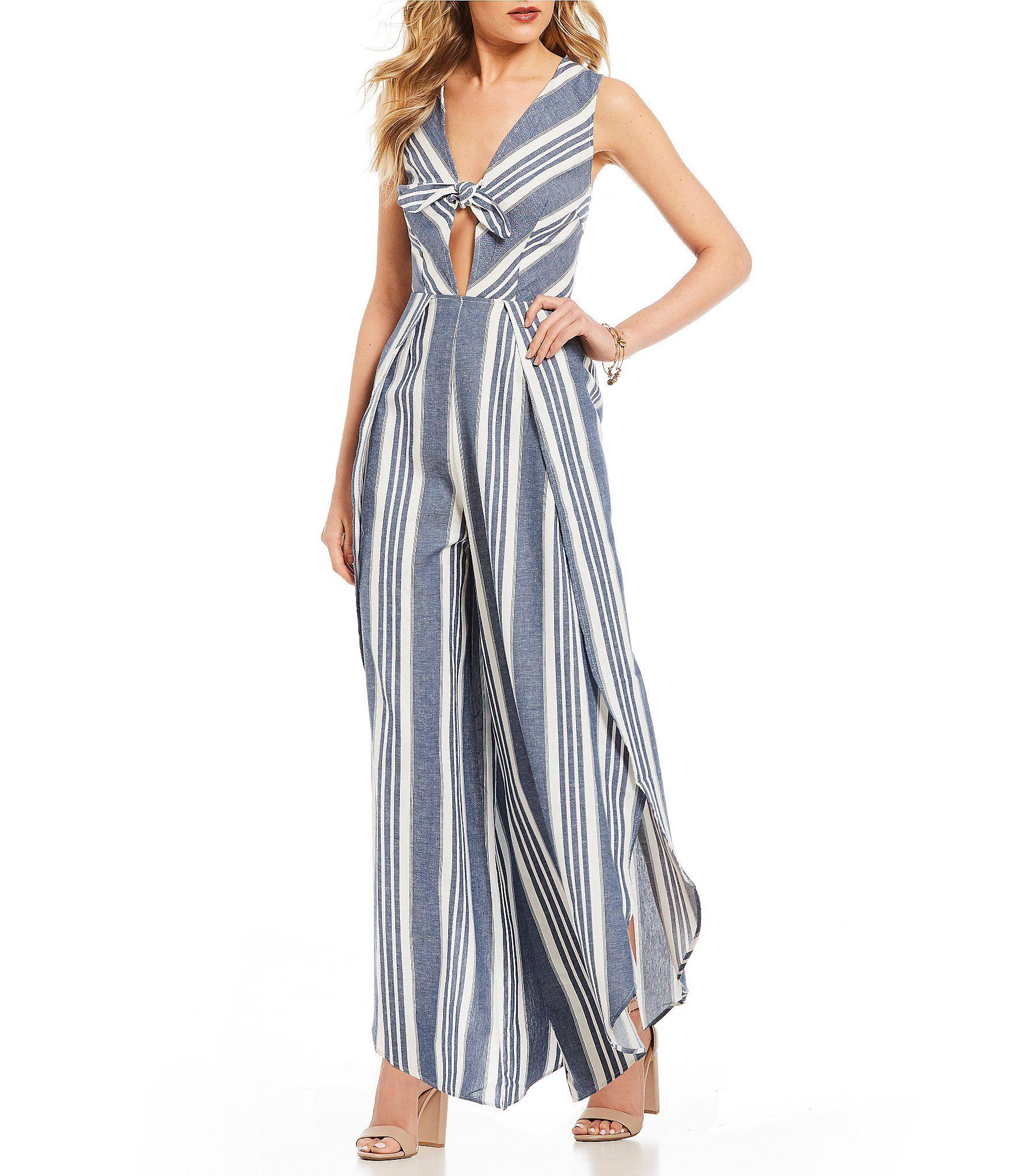 f8f2ec5c400 Shop for Coco + Jaimeson Striped Linen Jumpsuit at Dillards.com. Visit  Dillards.com to find clothing