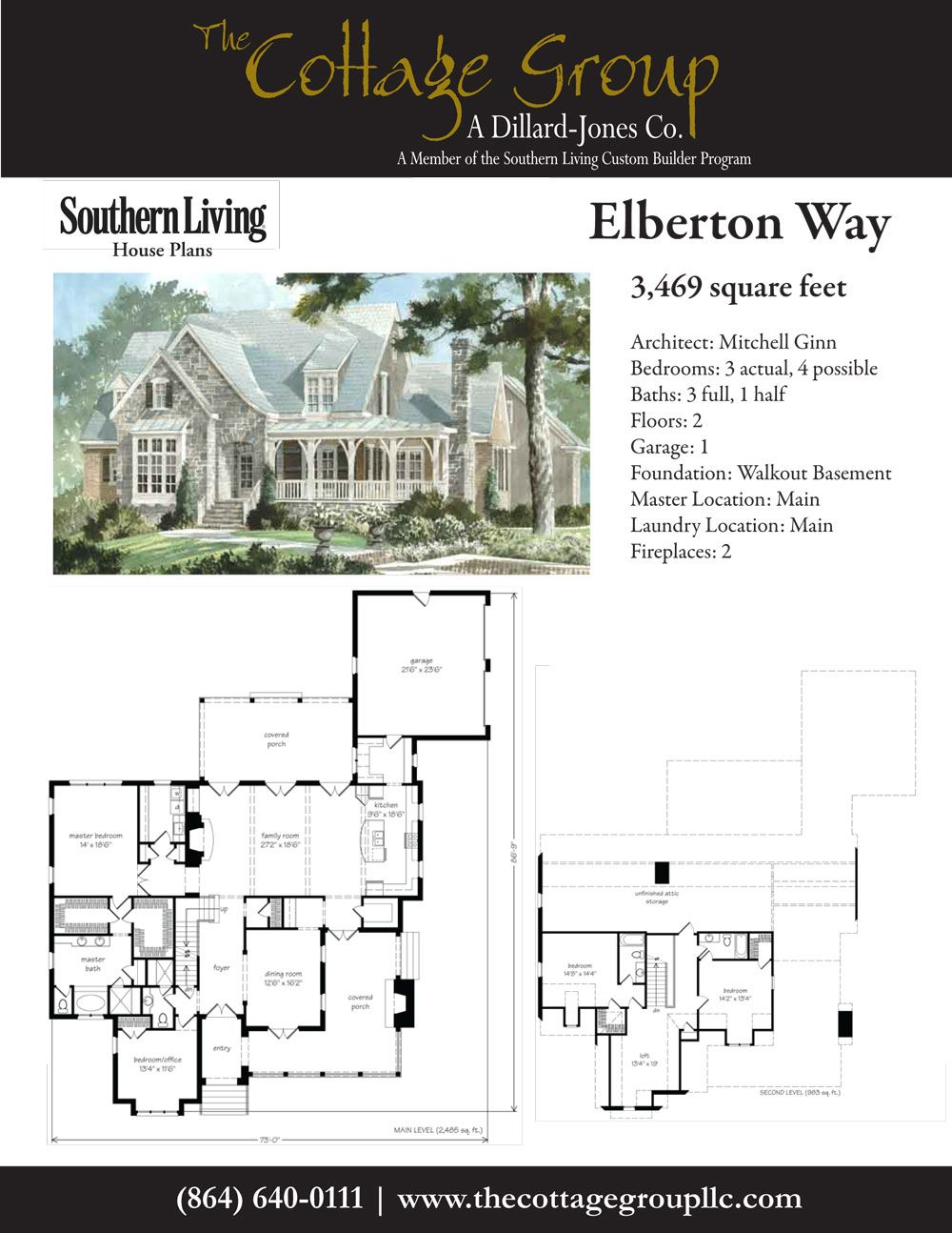 Elberton Way The Cottage Group House Plans Dog House Plans Cottage House Plans