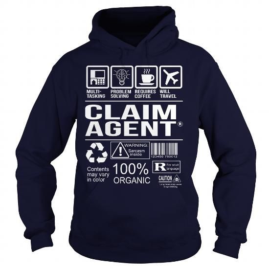 Awesome Tee For Claim Agent T-Shirts, Hoodies, Sweatshirts, Tee Shirts (36.99$ ==> Shopping Now!)