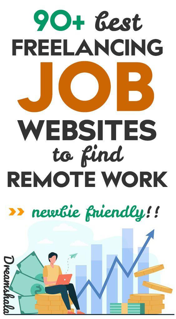 90 Best Freelance Jobs Websites To Find Remote Freelance Work In 2021 Freelancing Jobs Writing Jobs Freelance Writing Jobs