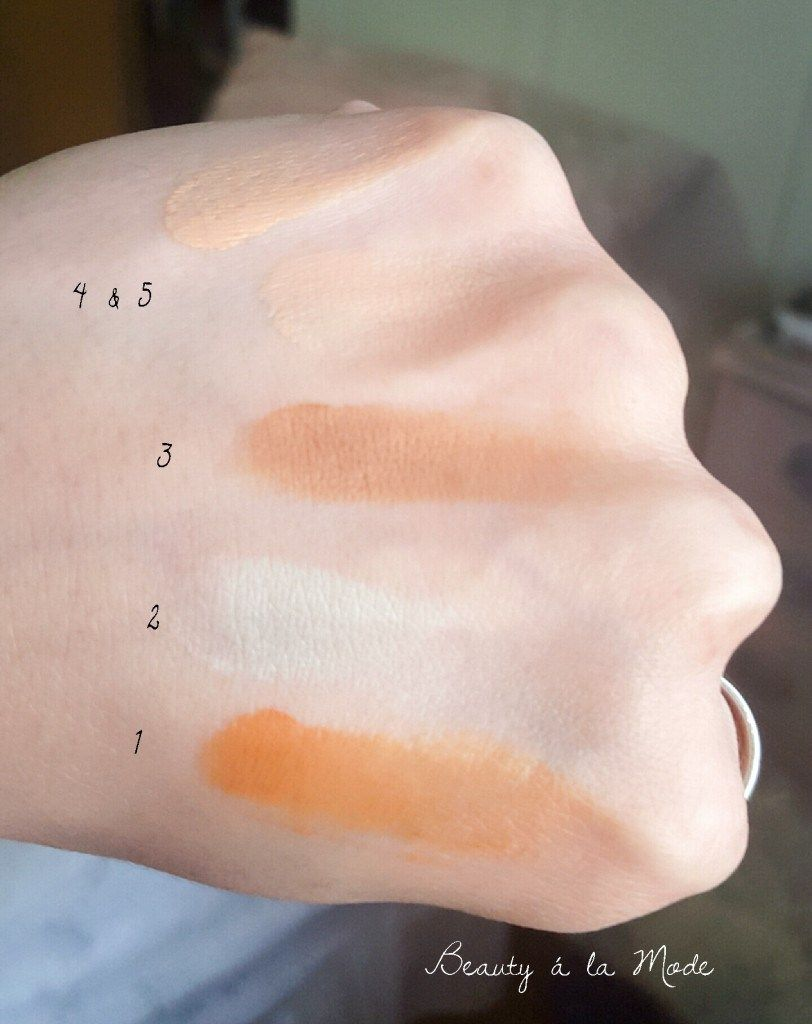Rainforest Of The Sea Wipeout Color Correcting Palette by Tarte #11