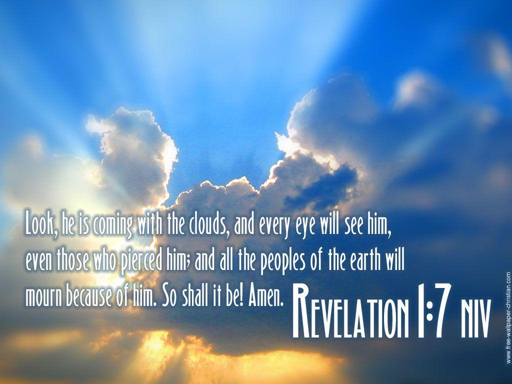 Kuvahaun tulos haulle Revelation 1:7