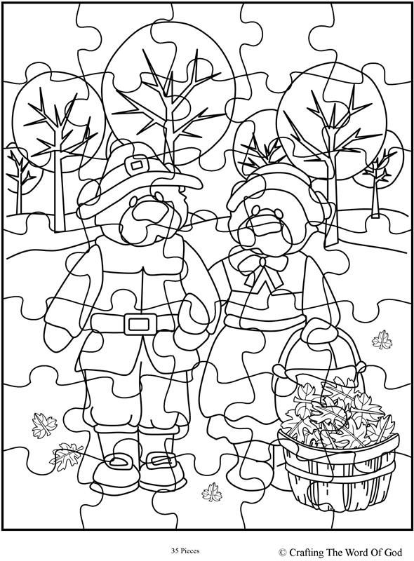Thanksgiving Puzzle 13- Activity Page | Sunday school ...
