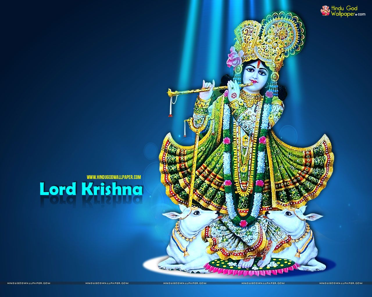 Hd wallpaper lord krishna - Lord Krishna High Resolution Wallpapers Images Download