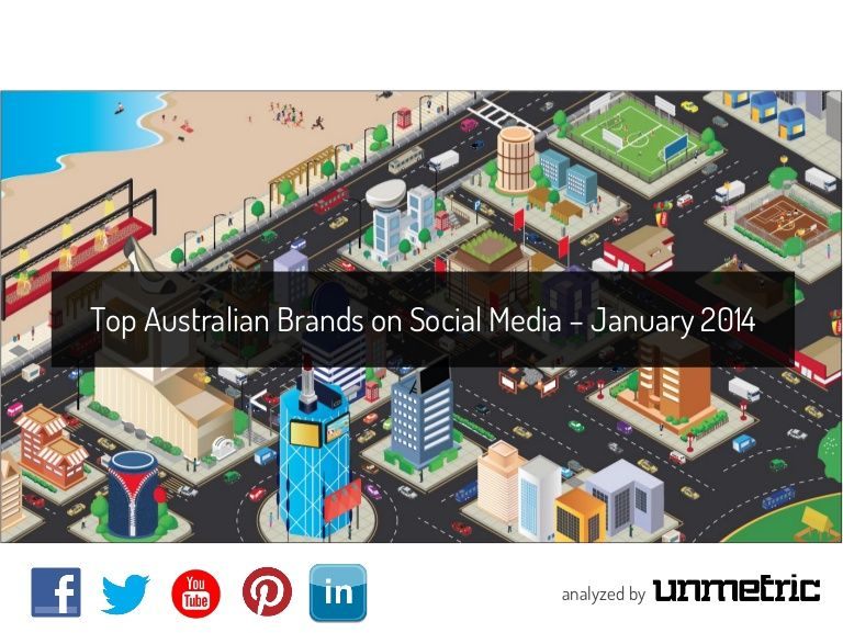 Top Australian Brands go head to head on Social Media- in January 2014. Unmetric takes a look at how they fared.