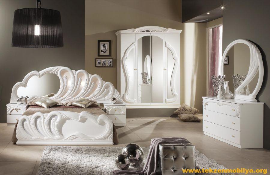 Bett Im Schlafzimmer Design Modern Italienisch Lecomfort , Tekzen Lüks Mobilya Yatak Odası Takımları