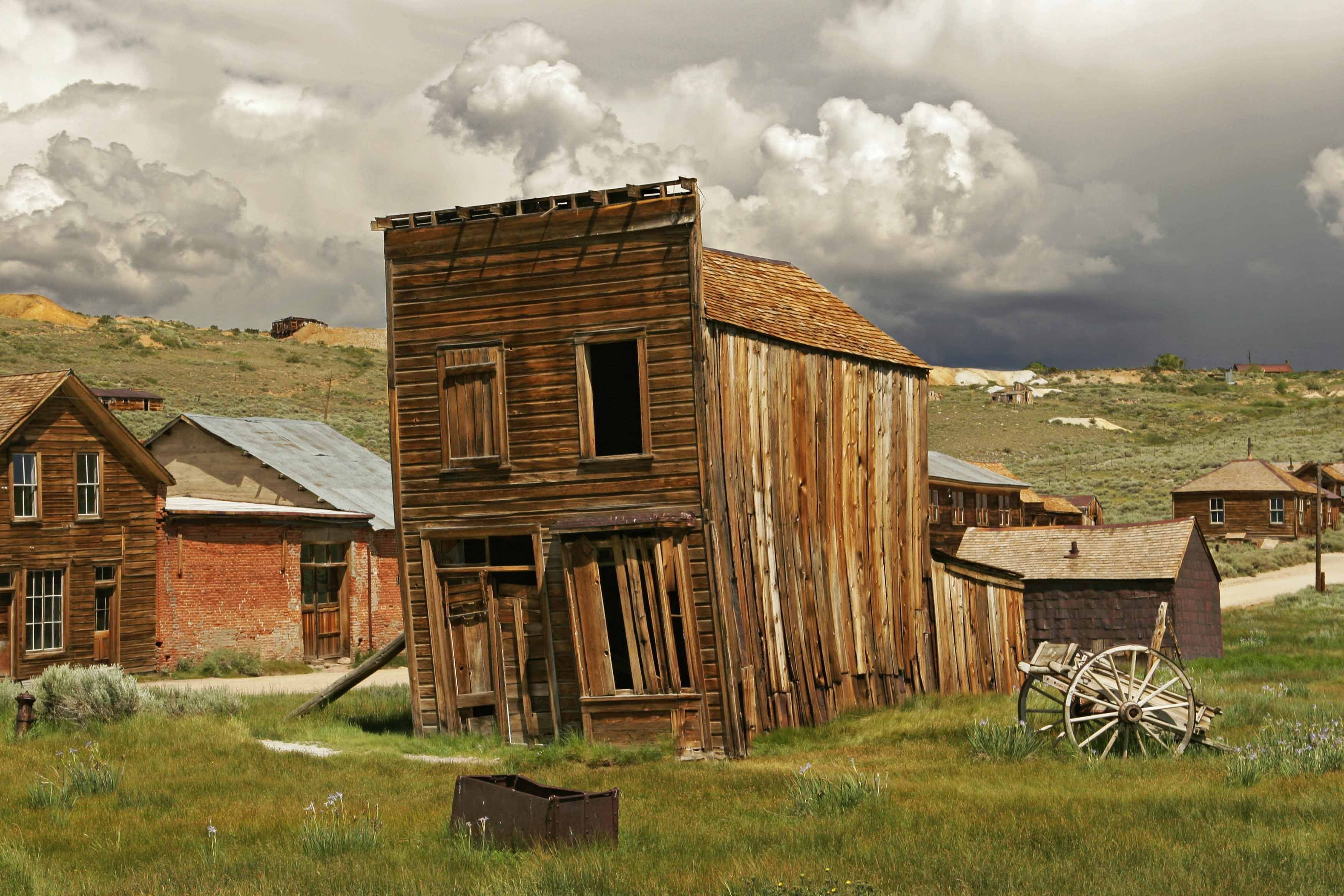 Bodie California Ghost Town Abandoned